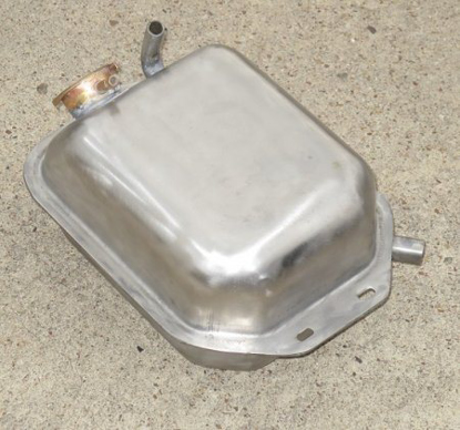 Picture of expansion tank stainless steel, NEW
