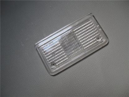 Afbeeldingen van glas achterlicht, rechts, wit