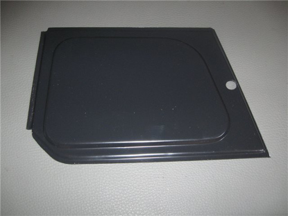 Picture of headlight access panel, left