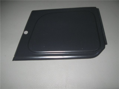 Picture of headlight access panel, right
