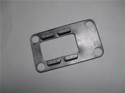 Afbeeldingen van plastic onder aluminium houder haak targadak