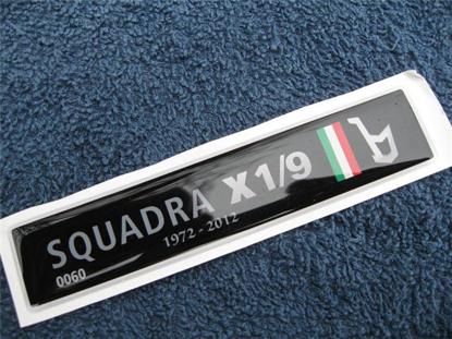 Picture of badge SQUADRA X 1/9