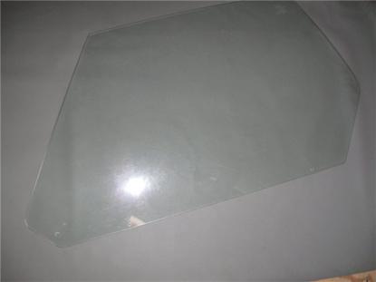 Picture of door window glass, left