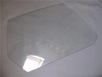 Picture of door window glass, right