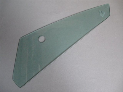 Picture of wing vent window glass, green tinted, right