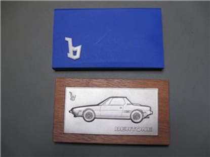 Picture of BERTONE plaquette