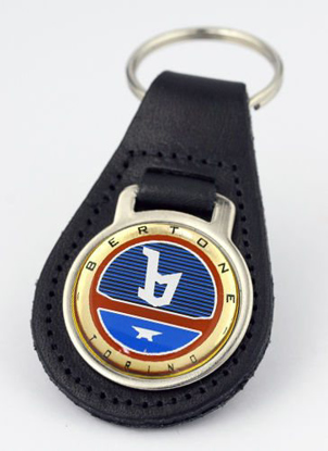 Picture of Bertone keyring leather