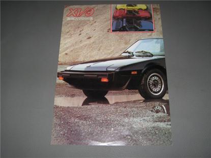 Picture of Bertone X 1/9, 1987, English