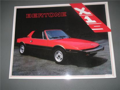 Picture of Bertone X 1/9, 1983