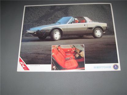 Picture of Bertone X 1/9  IN, card