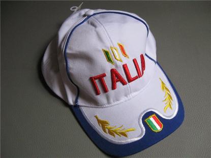 Picture of cap Italia, white