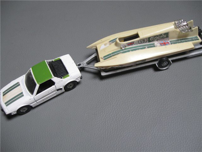 Picture of Corgi 1:36 with boat