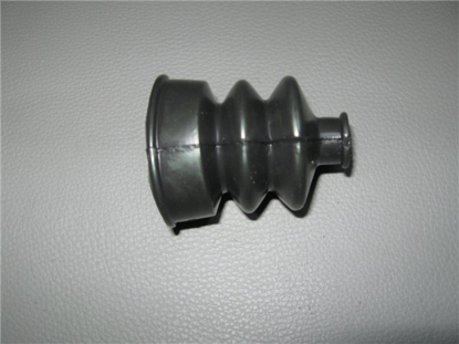 Picture of gear selector boot, tunnel side