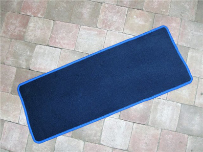 Picture of carpet luggage compartment rear, BLUE