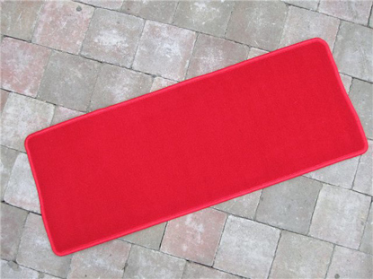 Picture of carpet luggage compartment rear, RED