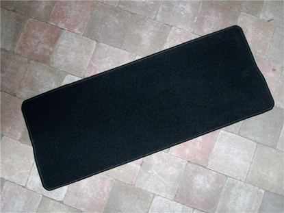Picture of carpet luggage compartment rear, BLACK