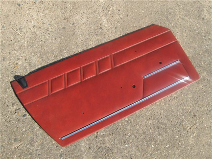 Afbeeldingen van deurplaat 1300, oranje, Serie Speciale, links