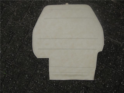 Picture of spare wheel cover, beige