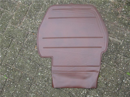 Picture of spare wheel cover, brown