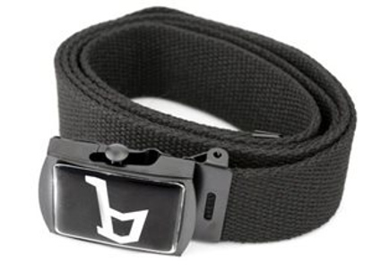 Picture of belt with Bertone -B- logo