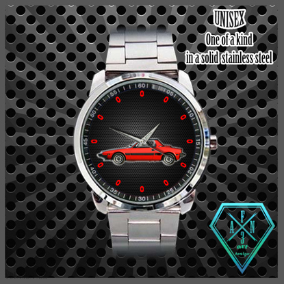 Picture of watch black, X 1/9 in red
