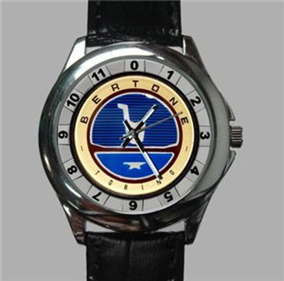 Picture of watch with Bertone logo, ladies, diameter 27 mm