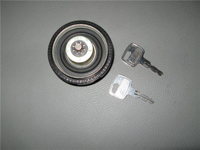 Afbeeldingen van tankdop Fuel Injection, kunststof, zwart, afsluitbaar