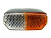 Afbeeldingen van knipperlicht 1500 compleet, voorzijde links, oranje/wit