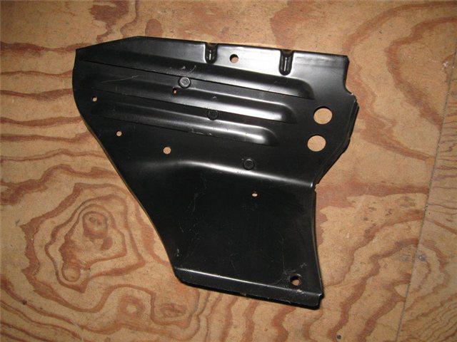 Afbeeldingen van plaatdeel / wand in motorruimte, rechts