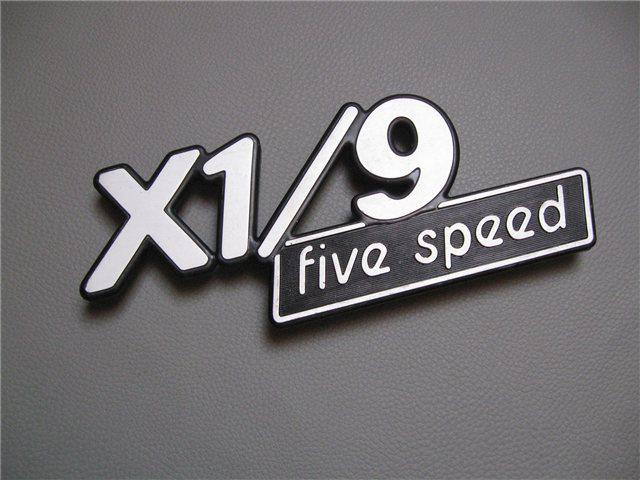 Afbeeldingen van embleem Five Speed