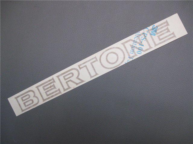 Afbeeldingen van sticker BERTONE 300x25 mm, goud