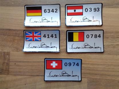Afbeeldingen van Serie Speciale sticker front wing