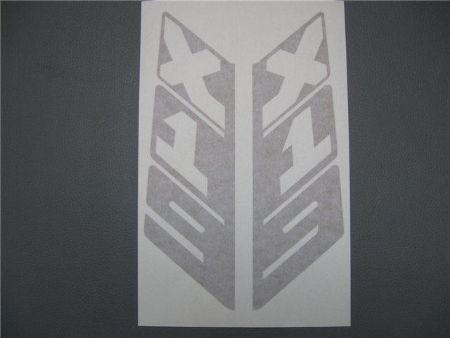 Afbeeldingen van stickers rollbar, vertikaal, goud