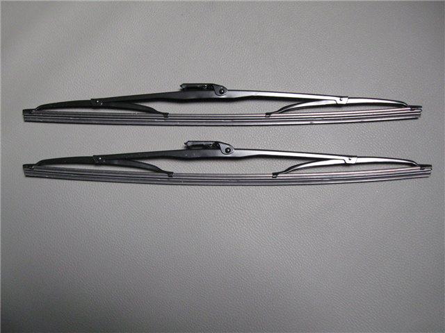 Afbeeldingen van set ruitenwisserbladen zwart