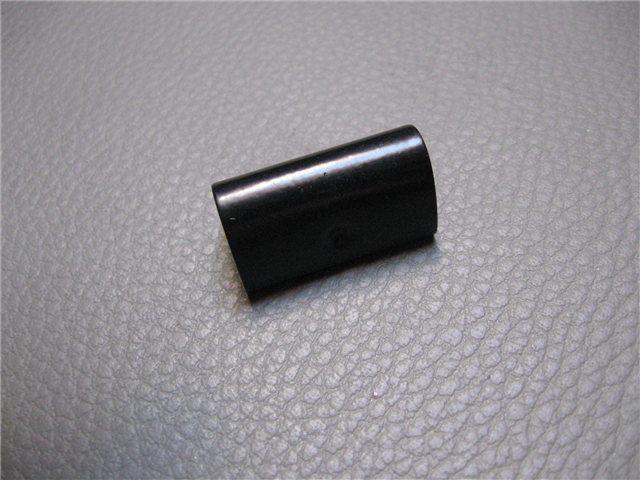 Afbeeldingen van verbindingsstuk sierlijst targabeugel, zwart