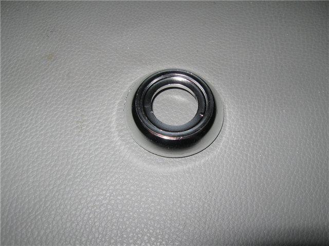Afbeeldingen van ring onder raamslinger 1300, chroom