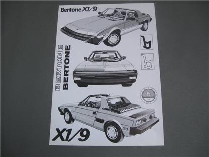 Afbeeldingen van Bertone X 1/9 1985