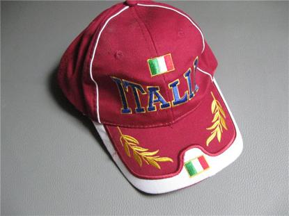 Afbeeldingen van cap Italia, rood