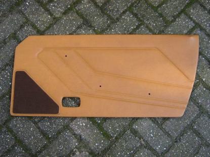 Afbeeldingen van deurplaat 1500, rechts, curry, origineel