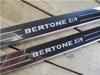 Afbeeldingen van set dorpellijsten, RVS, Bertone X 1/9