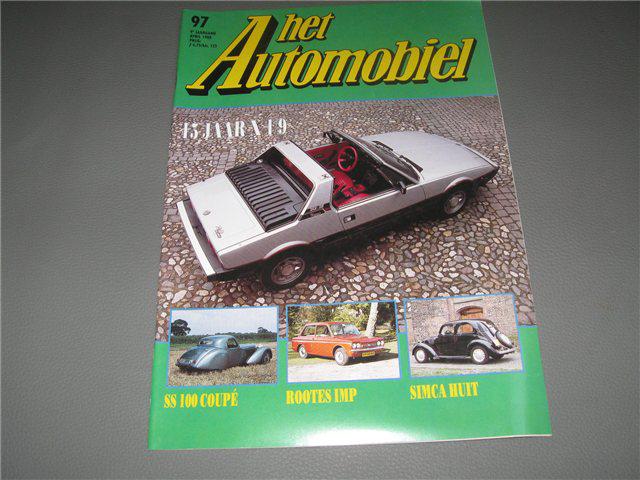 Afbeeldingen van Fiat X 1/9, Het Automobiel, Nederlands